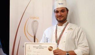 Il nostro Roberto Sacchetti, 3° posto al Miglior Panettone del Mondo! Roberto