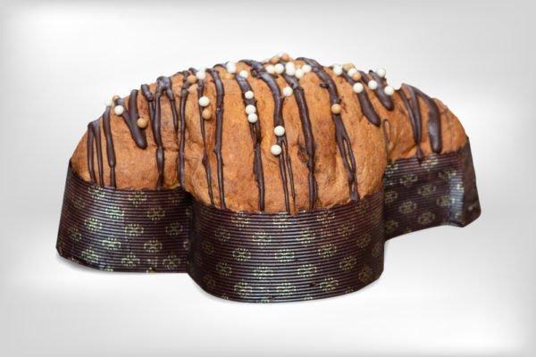 Colomba artigianale tre cioccolati dolceria sapone