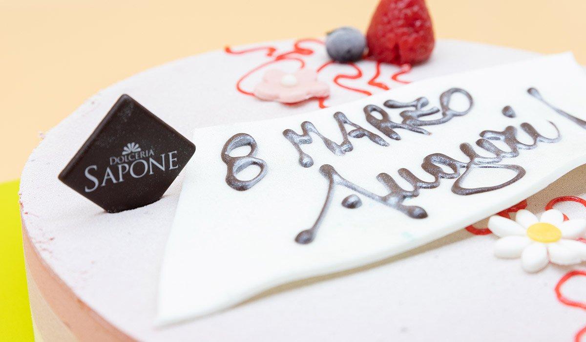 Dolceria Sapone - Festa della Donna - Torta Auguri Donne 2