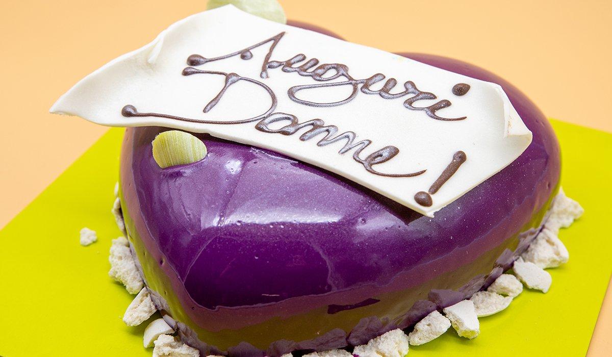 Dolceria Sapone - Festa della Donna - Torta Auguri donne