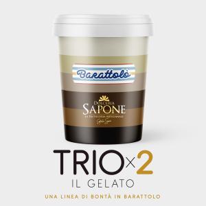 Barattolò - TRIOx2 - Dolceria sapone