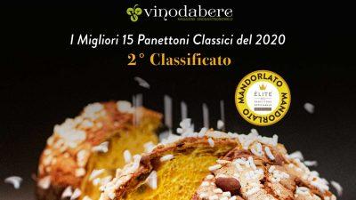 Mandorlato 2° Miglior Panettone Classico d'Italia 2020