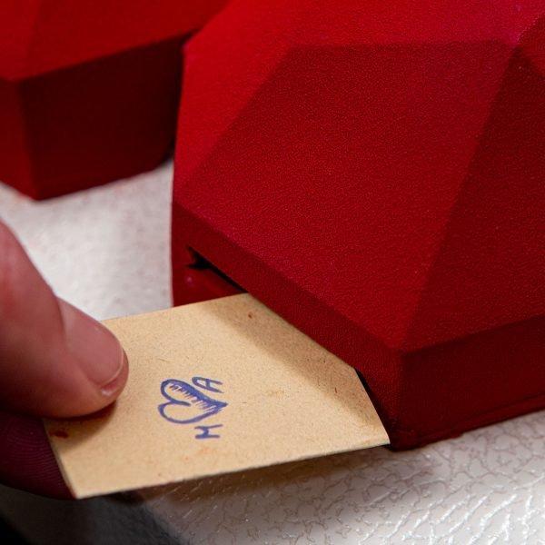 apri il tuo cuore dolceria sapone biglietto segreto